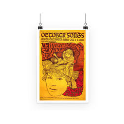 The Incredible String Band Psychedelic Poster