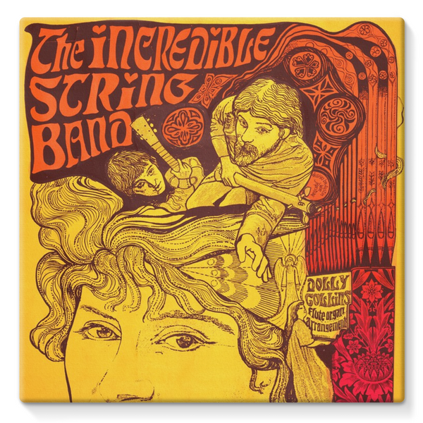 The Incredible String Band Stretched Eco-Canvas