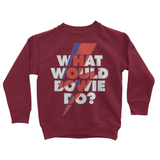 What Would Bowie Do? Kids Sweatshirt