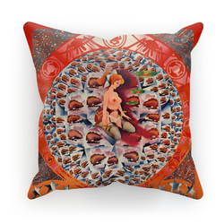 Granny Takes a Trip Psychedelic Cushion