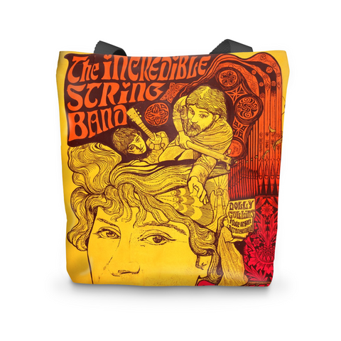 The Incredible String Band Psychedelic Tote Bag