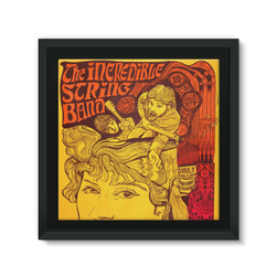 The Incredible String Band Psychedelic Framed EcoCanvas