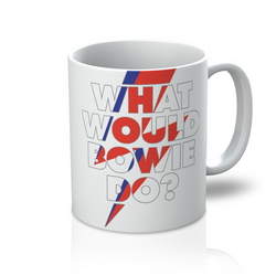 What Would Bowie Do? Mug