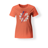 What Would Bowie Do? American Apparel Women's T-Shirt