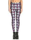 PINK SKULL LEGGINGS