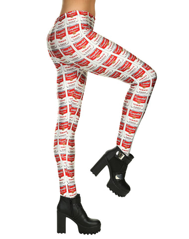 CAMPBELL SOUP LEGGINGS