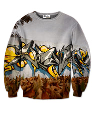VODKA GRAFFITI SWEATER