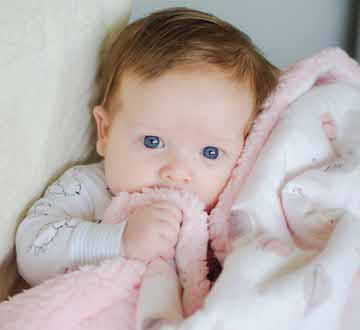 Customized Baby Blankets with Embroidery