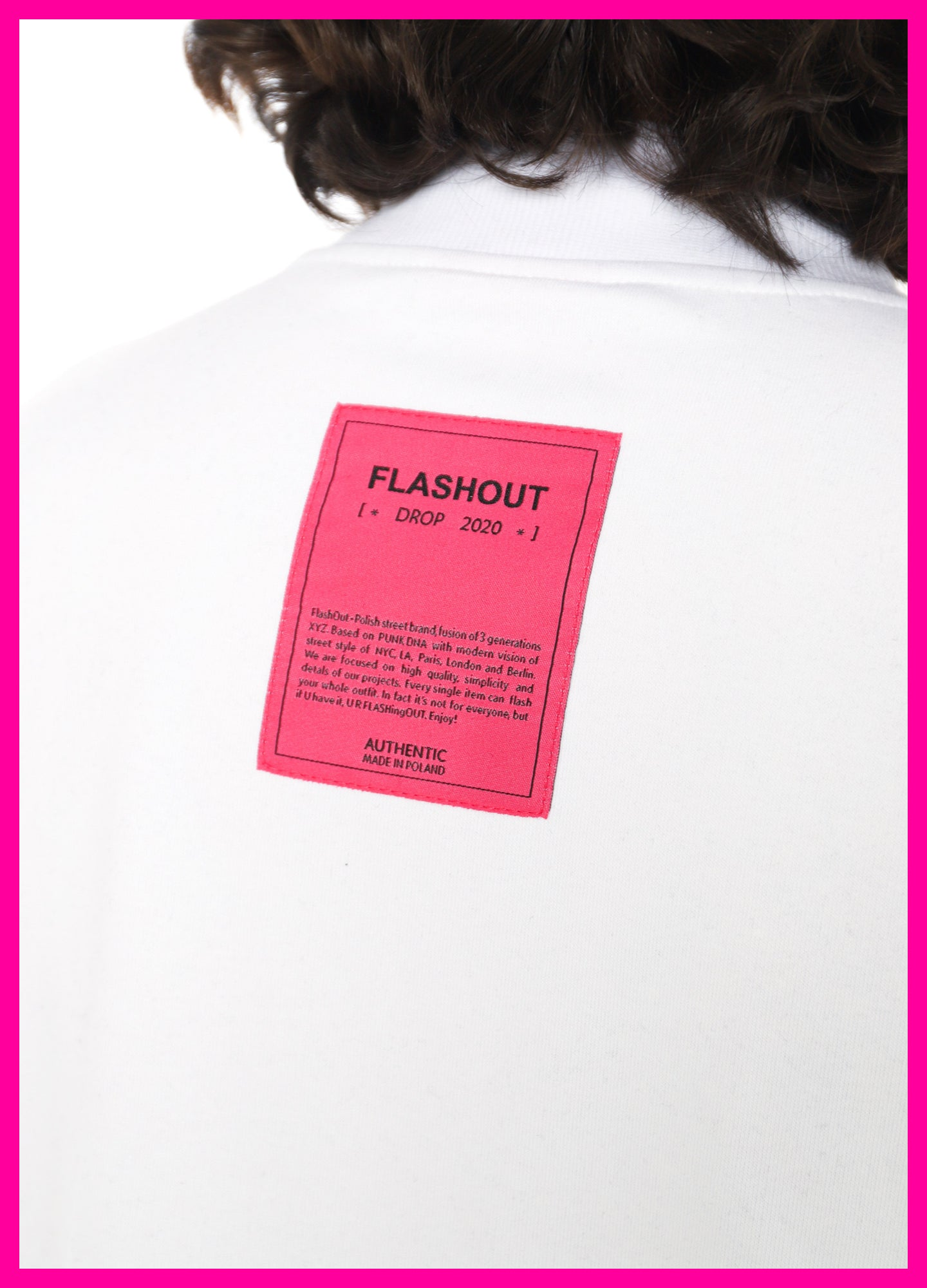 [ * UNISEX * ] WHITE LONGSLEEVE CHILL PILL - Flashout Store