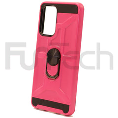 Samsung A72 Ring Armor Case Color Pink