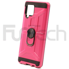 Samsung A42 Ring Armor Case Color Pink