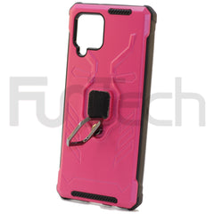 Samsung A42 5G Ring Armor Case Color Pink