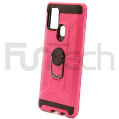 Samsung A21s Ring Armor Case Color Pink