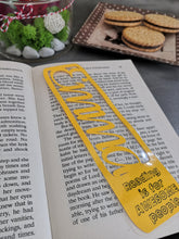 Load image into Gallery viewer, Personalized Bookmark , Custom Bookmark, Teacher Gift - Your name and favorite quote Bookmark