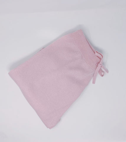 Ladies Joggers - Baby Pink Reduced from £125 to £75