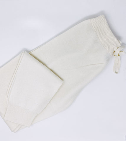 Ladies Joggers - Cream Reduced from £125 to £75