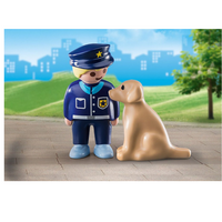 Playmobil 70408 Police officer with Dog