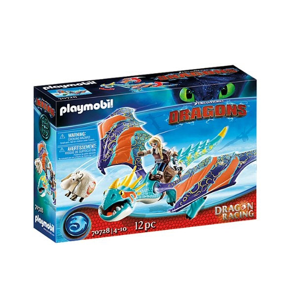Playmobil 70728 Dragon Racing: Astrid and Stormfly