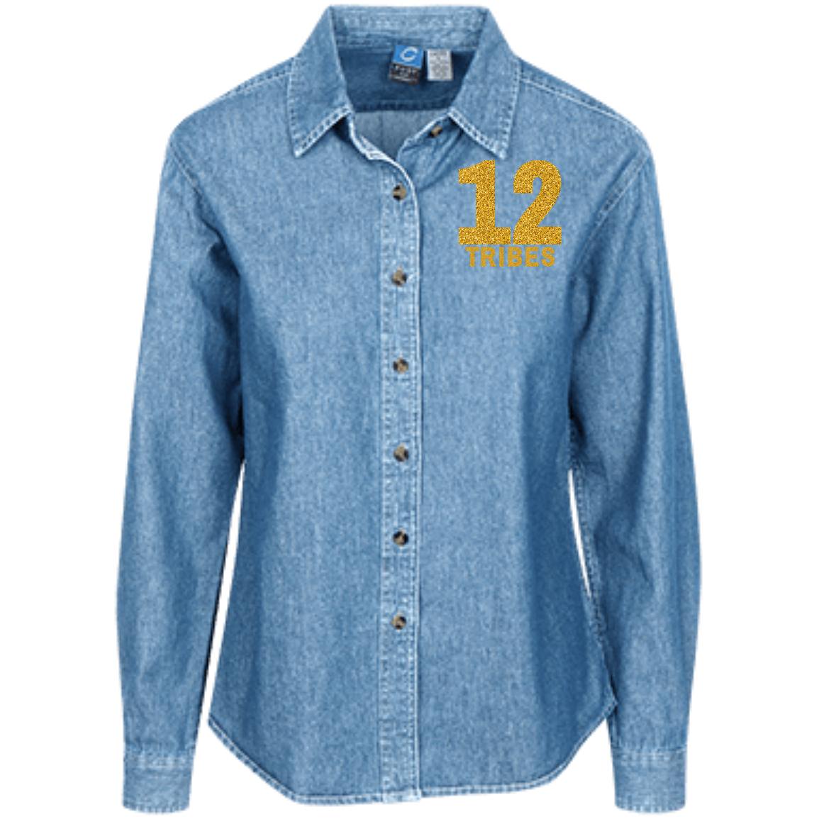 JF 12 tribes LSP10 Women's LS Denim Shirt