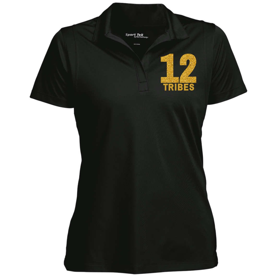 JF 12 tribes LST650 Women's Collar Polo