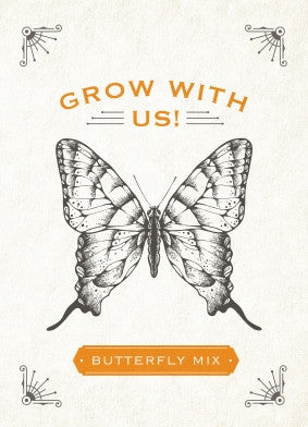 Grow With Us Butterfly