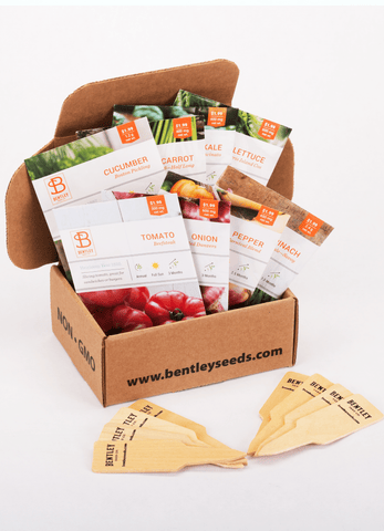 Kitchen Garden Seed Packet Kit - Bentley Seeds