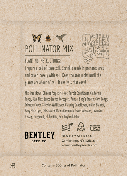 """Earth Day 2021 """"Pollinator Mix"""" Wildflower Seed in ..."""