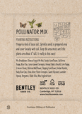 "Earth Day 2021 ""Pollinator Mix"" Wildflower Seed in Butterfly - Bentley Seeds"