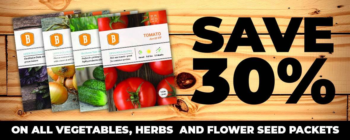 20% More Seed = $0.20 less in 2018!
