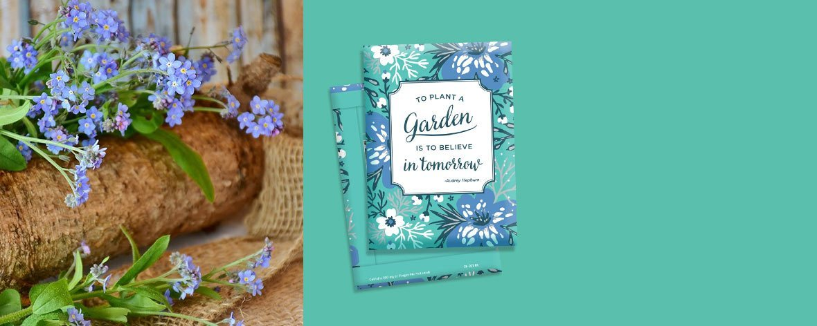 Design your own Custom Seed Packet