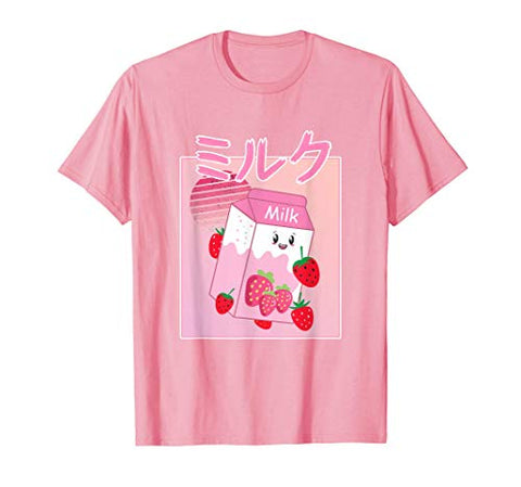 Georgenotfound Merch Japanese Strawberry Milk Shake Kawaii