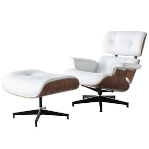 TIGMINO Modern Lounge Chair with ottoman chaise