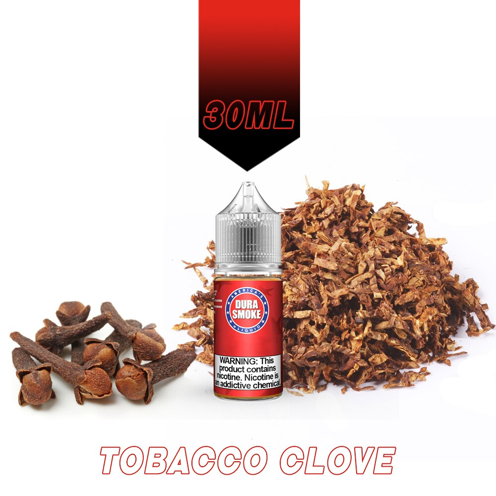 Tobacco Clove DuraSmoke eLiquid Red Label