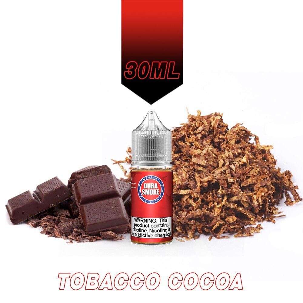 Tobacco Cocoa DuraSmoke eLiquid Red Label