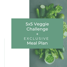 Load image into Gallery viewer, 5-Day Veggie Challenge & Meal Plan