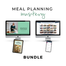 Load image into Gallery viewer, Meal Planning Mastery Bundle