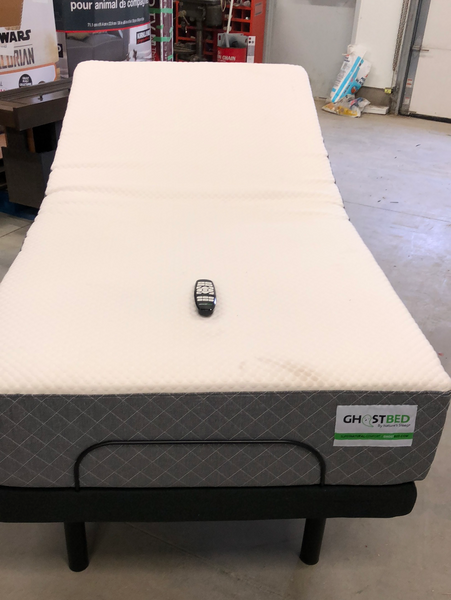 GHOST BED TWIN XL POWER ADJUSTABLE BED