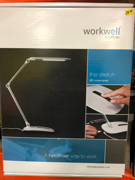 WORKWELL THE STRETCH LED CRANE LAMP