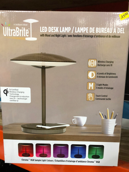 ULTRA BRIGHT LED DESK LAMP with mood and night light