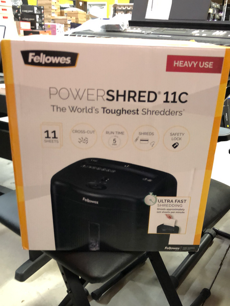 FELLOWS POWERSHRED 11c paper shredder