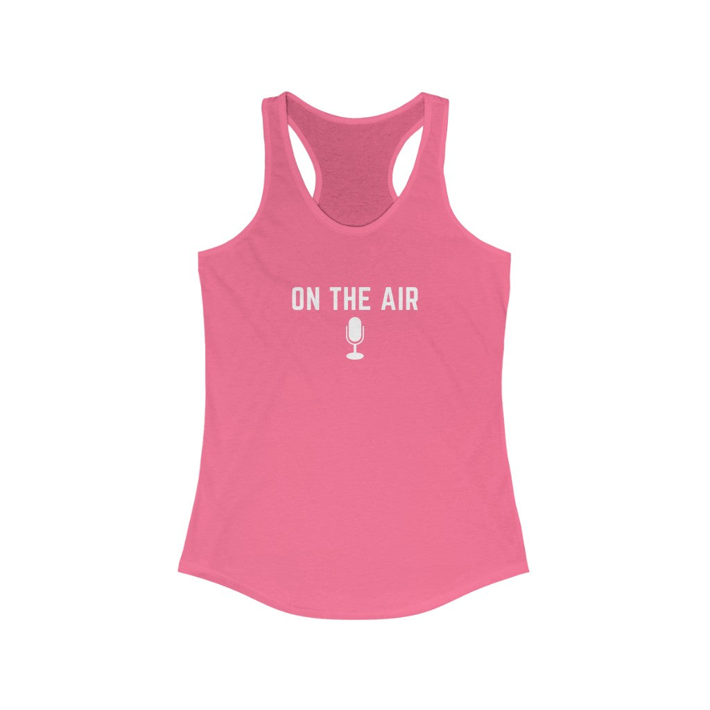 On The Air Women's Slim-Fit Tank