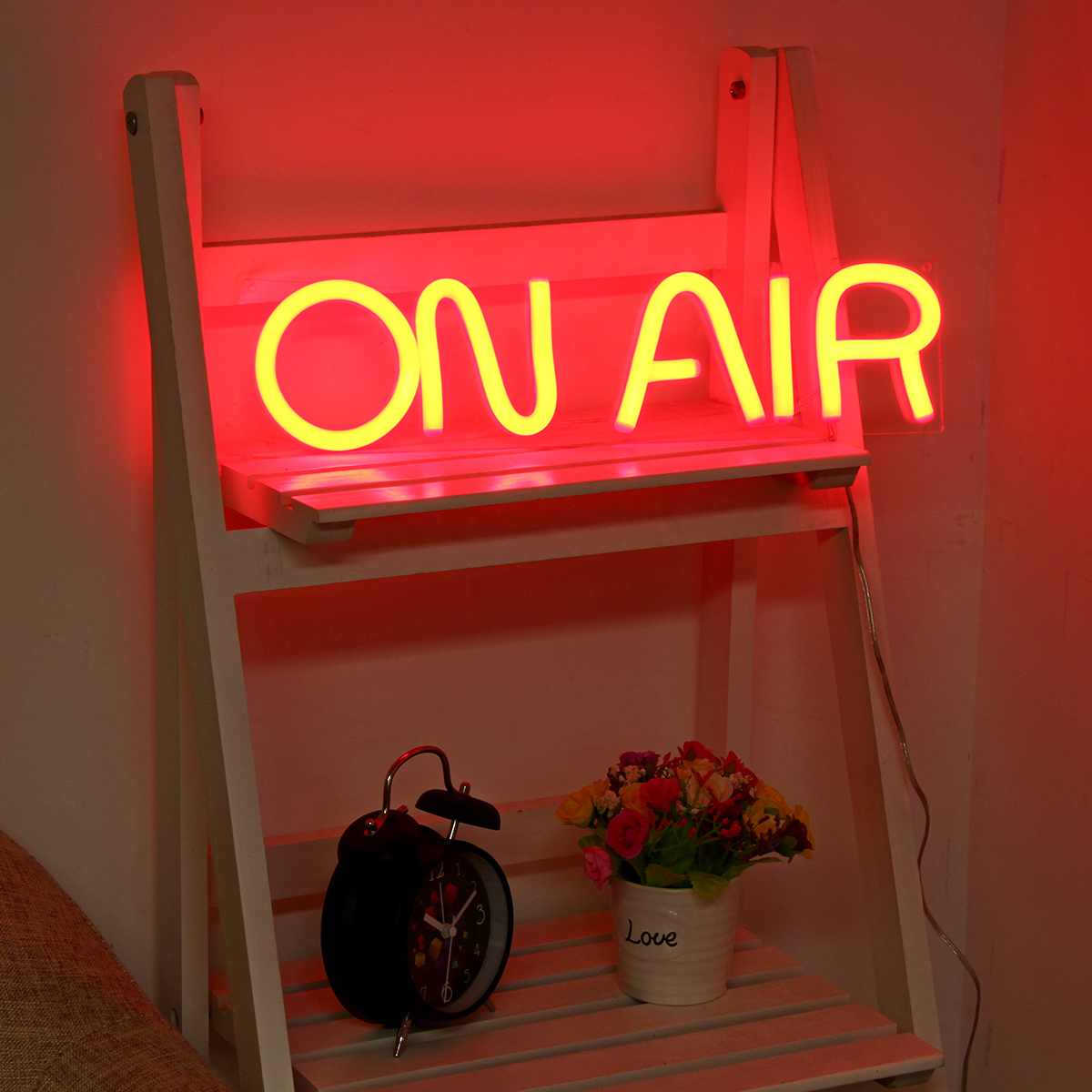 On Air LED Neon Home Studio Sign