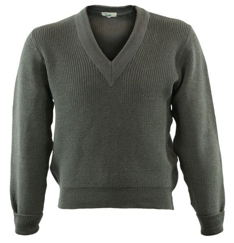 Austrian Army Wool V-Neck Sweater
