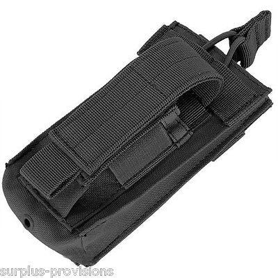 Condor - Single Kangaroo Mag Pouch - Black - Tactical magazine clip Molle -#MA50