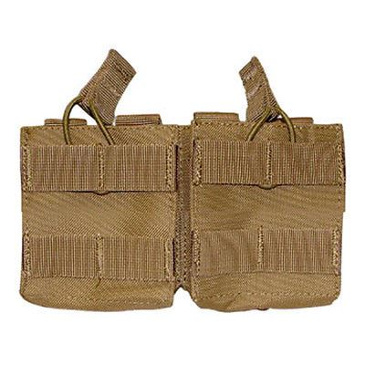 Condor  MA24 Double 7.62 Open Top Mag Pouch - Molle Holster - Coyote