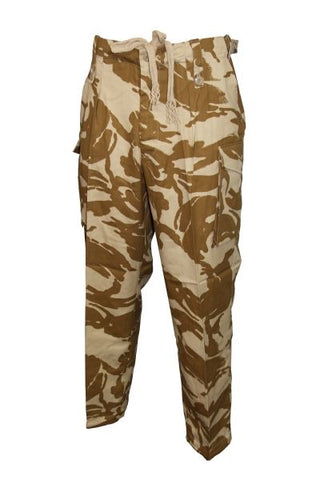 New British Army Desert DPM Camo Windproof Pants