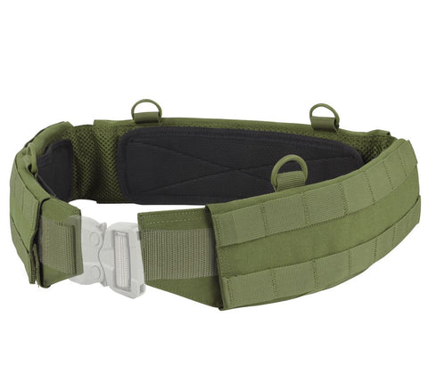 Condor Slim Tactical Battle Belt #121160 Choice of Colors & Size