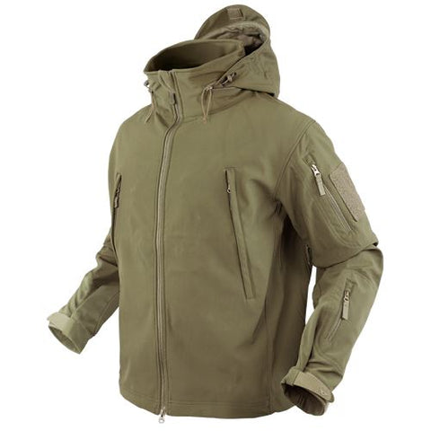 Condor SUMMIT Tactical Soft Shell Jacket - Tan