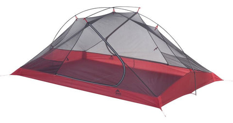 MSR Carbon Reflex 2 Person Ultralight Tent - Only 1 lb, 13 oz