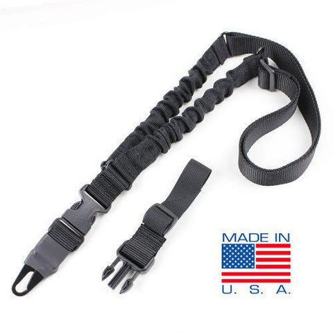 Condor Adder Tactical Double Bungee 1 Point Rifle Sling - Black #US1022